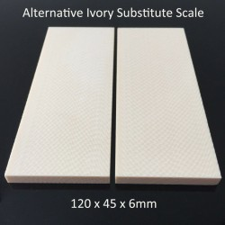 2pcs X Arvorin - 120x45x6mm Ivory Substitute Material