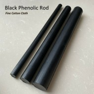 Black Cotton Phenolic Rod